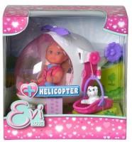 Кукольный набор Simba Эви Спасательный вертолет (5739469)