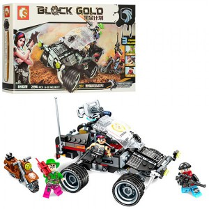 Конструктор Sembo Block Gold 'Джип' (11677)