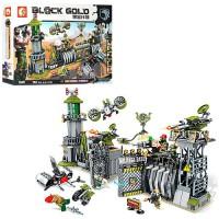 Конструктор Sembo Block Gold 'Военная база' (11720)