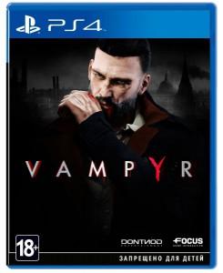игра Vampyr PS4 - Русская версия