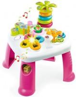Детский игровой стол Smoby Toys Cotoons™ Цветочек со звуковыми и световыми эффектами розовый (211170)