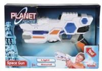 Лазерный бластер Simba Космический солдат со звуковыми и световыми эффектами 24 см (8041886)
