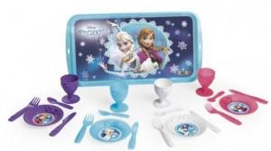 Набор посуды с подносом Frozen Smoby (310567)