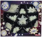 Набор сияющих элементов Simba Звезды 120 шт (7828827)