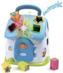 Развивающая игрушка Smoby Toys Cotoons™ Домик с сортером со звуковым и световыми эффектами голубая (110403)