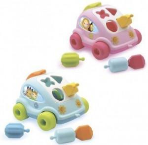 Развивающая игрушка Smoby Toys Cotoons™ Машинка с формами (211118)