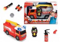 Автомобиль Dickie Toys Пожарная помощь с набором пожарного со светом и звуком (3716006)