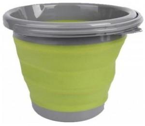 Ведро складное Tramp, 10 л, оливковое (TRC-091-olive)