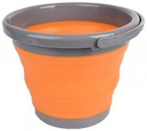 Ведро складное Tramp, 10 л, оранжевое (TRC-091-orange)