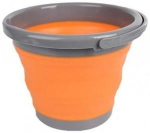 Ведро складное Tramp, 5 л, оранжевое (TRC-092-orange)