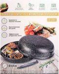 Сковорода Benson 'Гриль-газ', мраморное покрытие (803)