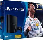 Приставка Sony PlayStation 4 Pro 1Tb Black (игра 'FIFA 2018' в подарок) (официальная гарантия)
