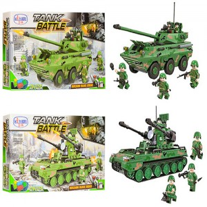 Конструктор Winner Tank Battle 'Военный транспорт' (1307-1309)
