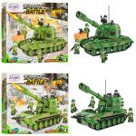 Конструктор Winner Tank Battle 'Военный транспорт' (1311-1314)