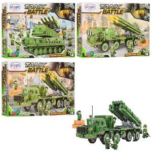 Конструктор Winner Tank Battle 'Военный транспорт' (1312-1315-1316)