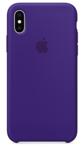 Чехол Apple iPhone X Silicone Case - Ultra Violet (MQT72)