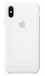 Чехол Apple iPhone X Silicone Case - White (MQT22)
