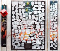 Подарок Скретч постер My Poster Extreme edition UKR в тубусе + бесплатный постер экстремальной еды