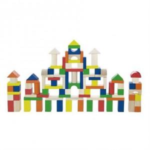 Набор строительных блоков Viga Toys 100 шт. (2,5см) (50334)