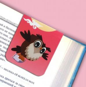фото Набор магнитных закладок 'Совушка на ветке' (2 шт.) #7