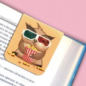 фото Набор магнитных закладок 'Совушка на ветке' (2 шт.) #4
