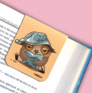 фото Набор магнитных закладок 'Совушка на ветке' (2 шт.) #5
