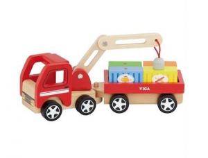 Игрушка Viga Toys 'Автокран' (50690)