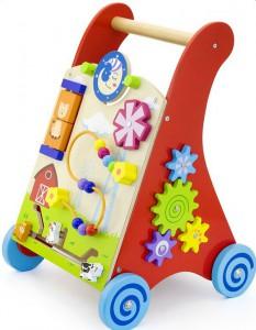 Ходунки-каталка Viga Toys красные (50950)