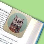 фото Набор магнитных закладок 'Гламурные совы' (2 шт.) #8
