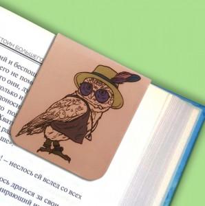 фото Набор магнитных закладок 'Гламурные совы' (2 шт.) #5