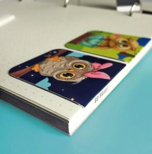 фото Набор магнитных закладок 'Сладкая парочка' (2 шт.) #6