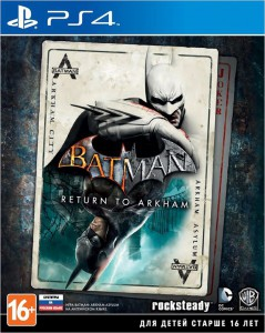 игра Batman: Return To Arkham Remastered Collection PS4 - Русская версия