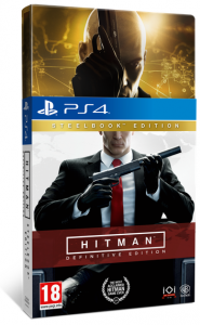 игра Hitman: Definitive Steelbook Edition PS4 - Русская версия
