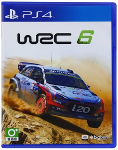 игра WRC 6 PS4