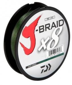 фото Шнур Daiwa J-Braid X8 0,10mm 150m Dark Green (12751-010) #2