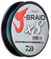 Шнур Daiwa J-Braid X8 0,16mm 150m Multi Color (12755-016)