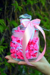 Подарок Подарочный набор '100 причин почему Я Тебя Люблю 'для девушки (розовый) (417)