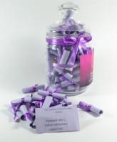 Подарок Подарочный набор '100 причин почему Я Тебя Люблю 'для парня фиолетовый (420)