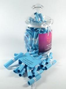 Подарок Подарочный набор '100 причин почему Я Тебя Люблю 'для парня синий (419)