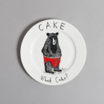 Подарок Тарелка 'Медведь' (416)