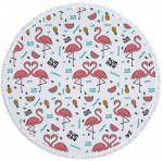 Подарок Пляжный коврик 'Summer Flamingo' (481)