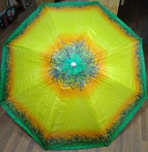 фото Комплект: Зонт пляжный желтый 1.8 м с наклоном, Anti-UV, и Винт крепежный SS-Z-1 #7
