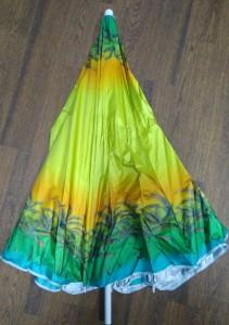 фото Комплект: Зонт пляжный желтый 1.8 м с наклоном, Anti-UV, и Винт крепежный SS-Z-1 #9