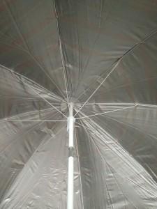 фото Комплект: Зонт пляжный желтый 1.8 м с наклоном, Anti-UV, и Винт крепежный SS-Z-1 #5
