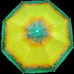 фото Комплект: Зонт пляжный желтый 1.8 м с наклоном, Anti-UV, и Винт крепежный SS-Z-1 #2