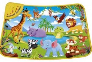 Музыкальный коврик 'Дикие животные' (782-U)