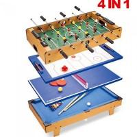 Настольная игра 4 в 1 Bambi (HG207-4)