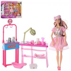 Кукла шарнирная 'Доктор ветеринар' (JX100-31)
