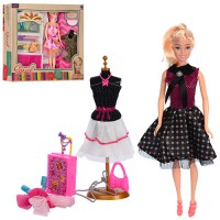 Кукла с нарядом  2 вида (8821-A-D)