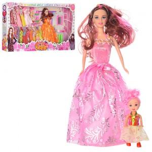 Кукла с нарядом  2 вида (8865D)